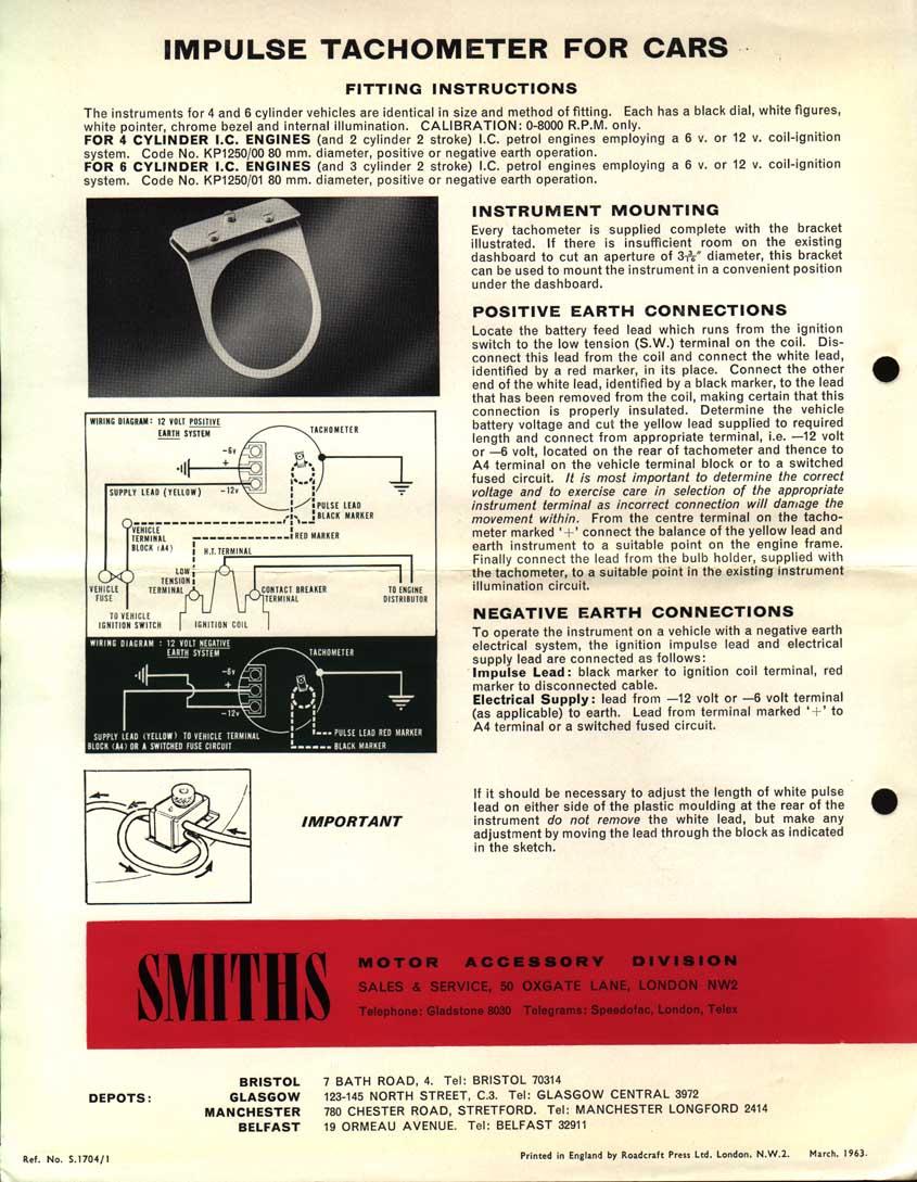 mk1 forum net view topic smiths tachometer wiring